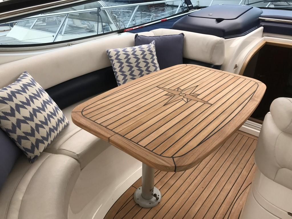 Nautic Star Folding Marine Teak Table