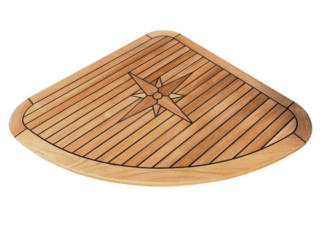Nautic Star Quarter Teak Boat Table Marine Teak