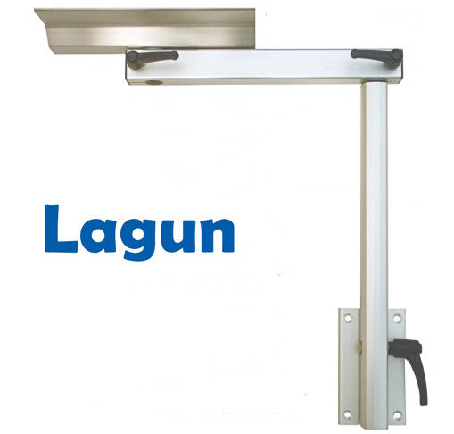 Lagun Table Mount Marine Teak