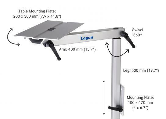 Lagun Side Picture Pit Table Mount2 Jpg
