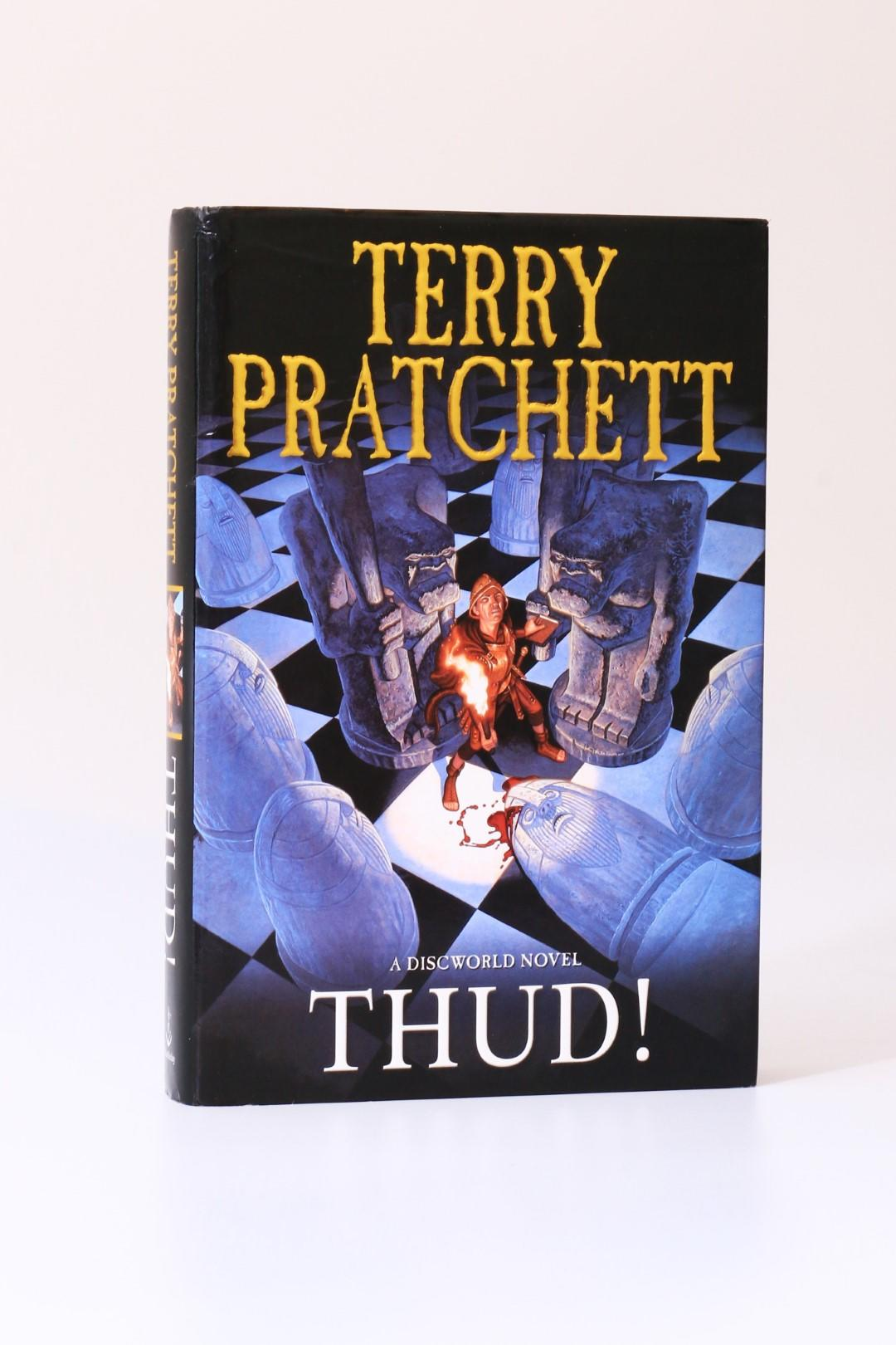 Terry Pratchett - Thud! - Doubleday, 2005, First Edition.