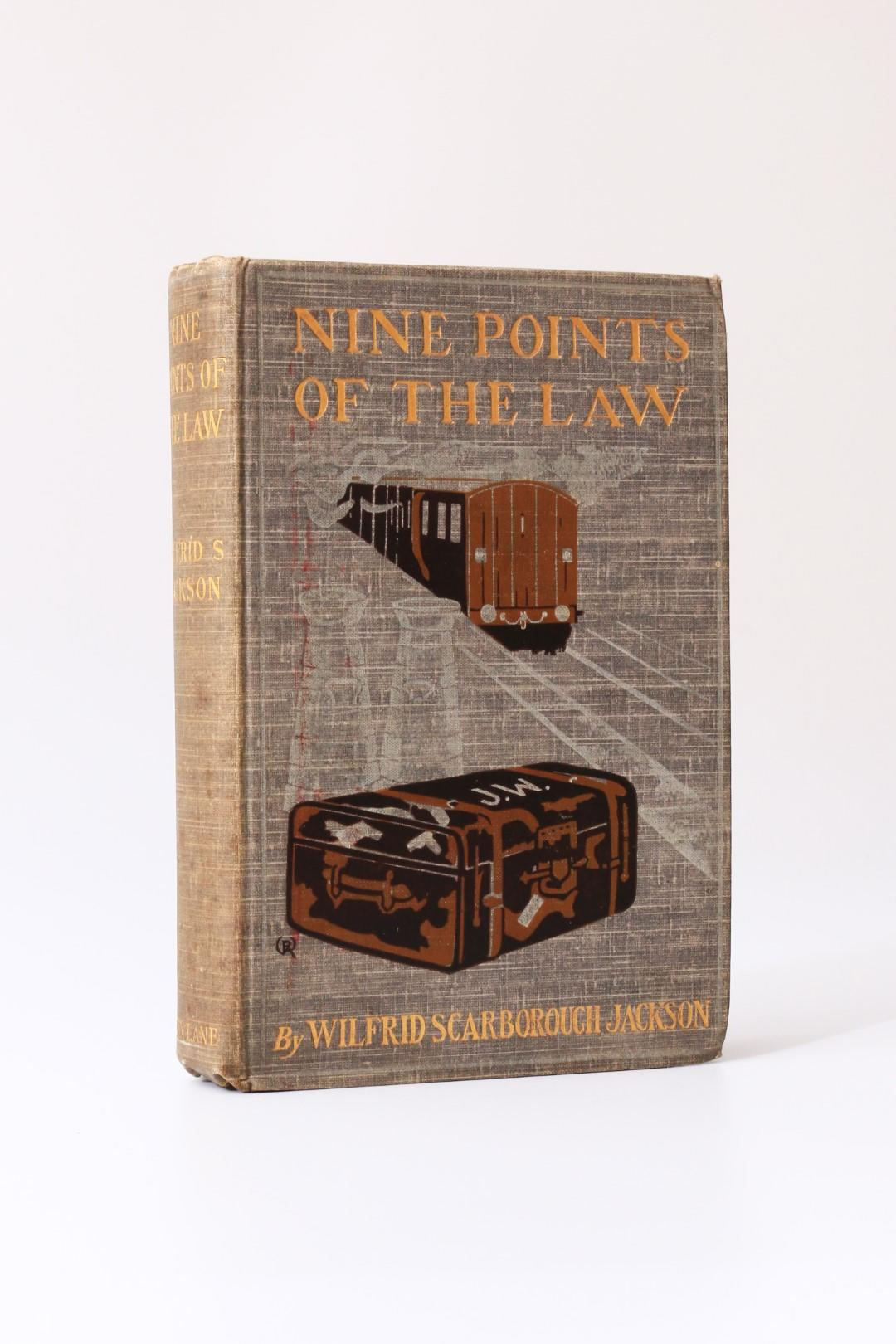 Wilfrid Scarborough Jackson - Nine Points of the Law - John Lane, 1903, First Edition.