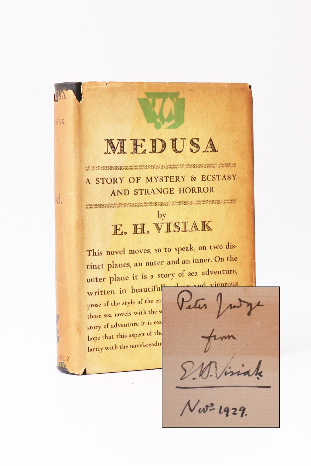 E.H. Visiak - Medusa - Gollancz, 1929, Signed First Edition.
