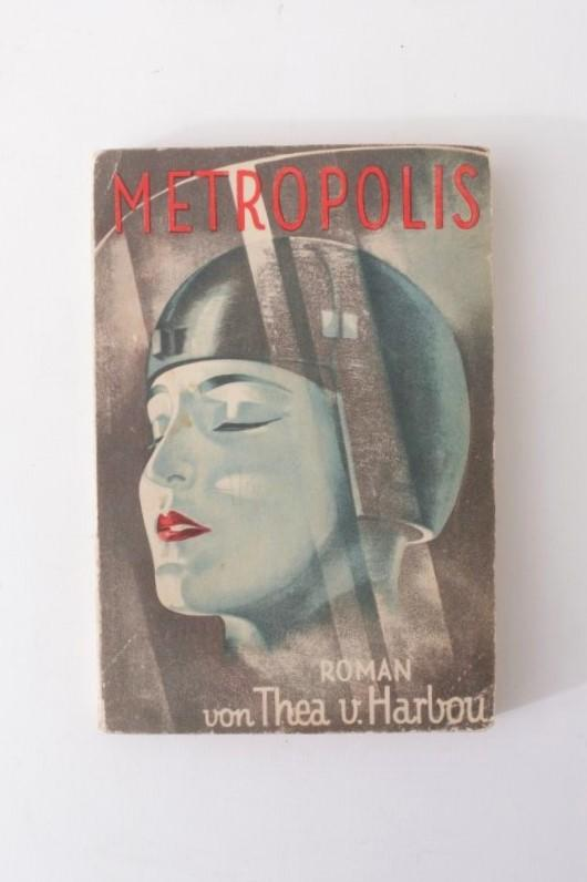 Thea von Harbou - Metropolis - August Scherl, 1926, First Edition.