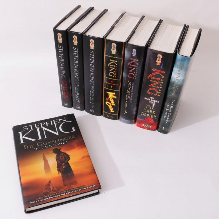 Stephen King - The Dark Tower Series [8 volumes, signed] - Viking / Grant / Scribner, 2003-2012, . Signed