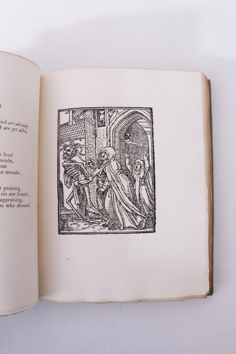 Hans Holbein - The Dance of Death - Privately Printed, 1916, Limited Edition.