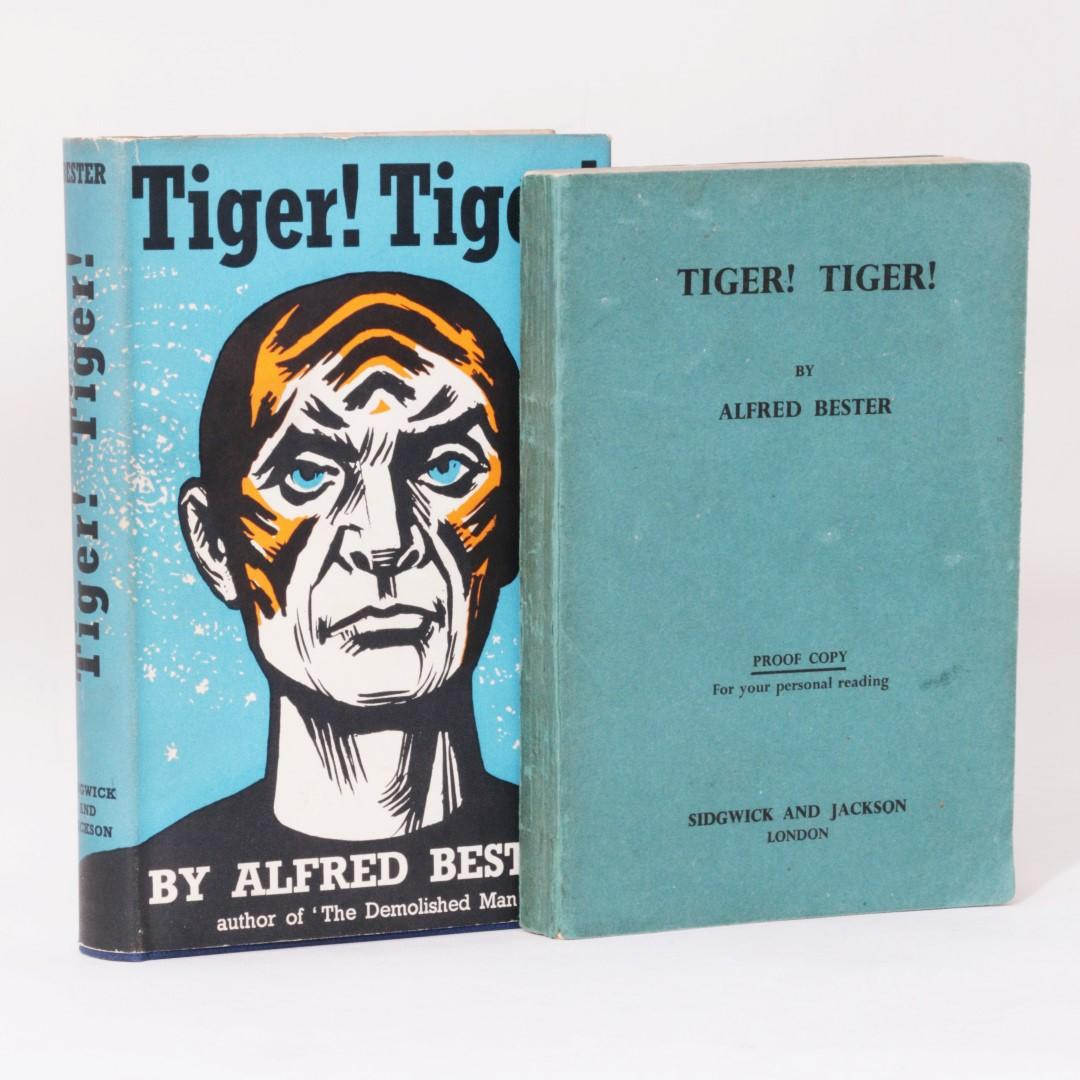 Alfred Bester - Tiger! Tiger! w/ Proof - Sidgwick & Jackson, 1956, First Edition.