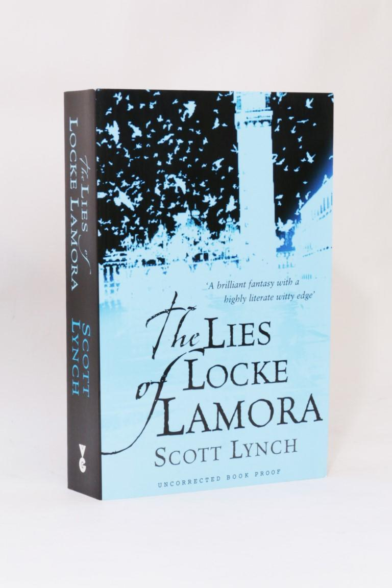 Scott Lynch - The Lies of Locke Lamora - Gollancz, 2005, Proof. Signed