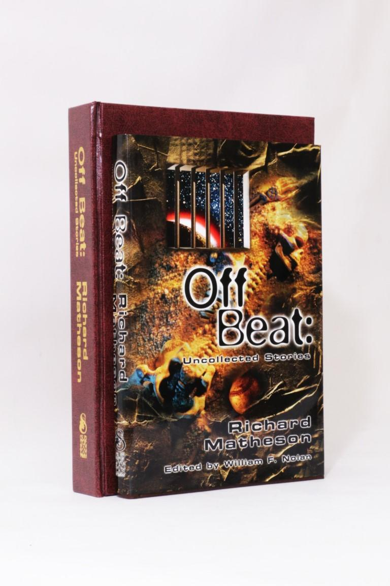 Richard Matheson - Off Beat: Uncollected Stories - Subterranean Press, 2002, Signed Limited Edition.