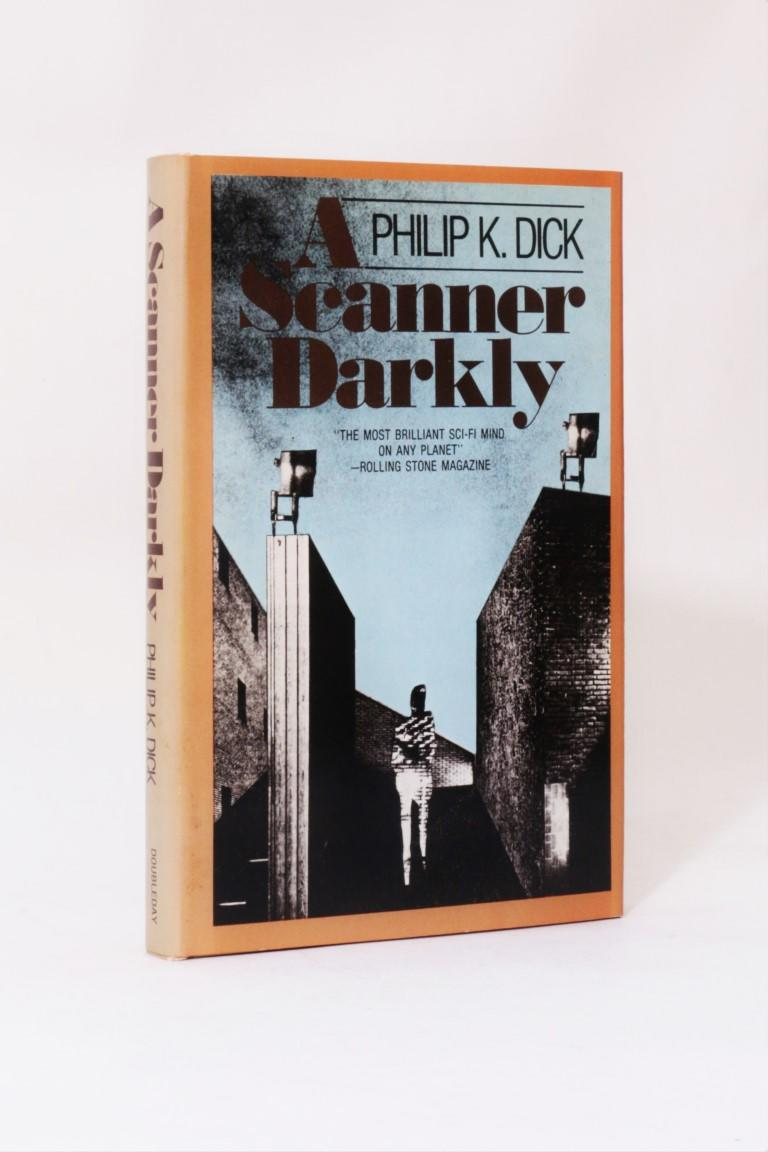 Philip K. Dick - A Scanner Darkly - Doubleday, 1977, First Edition.