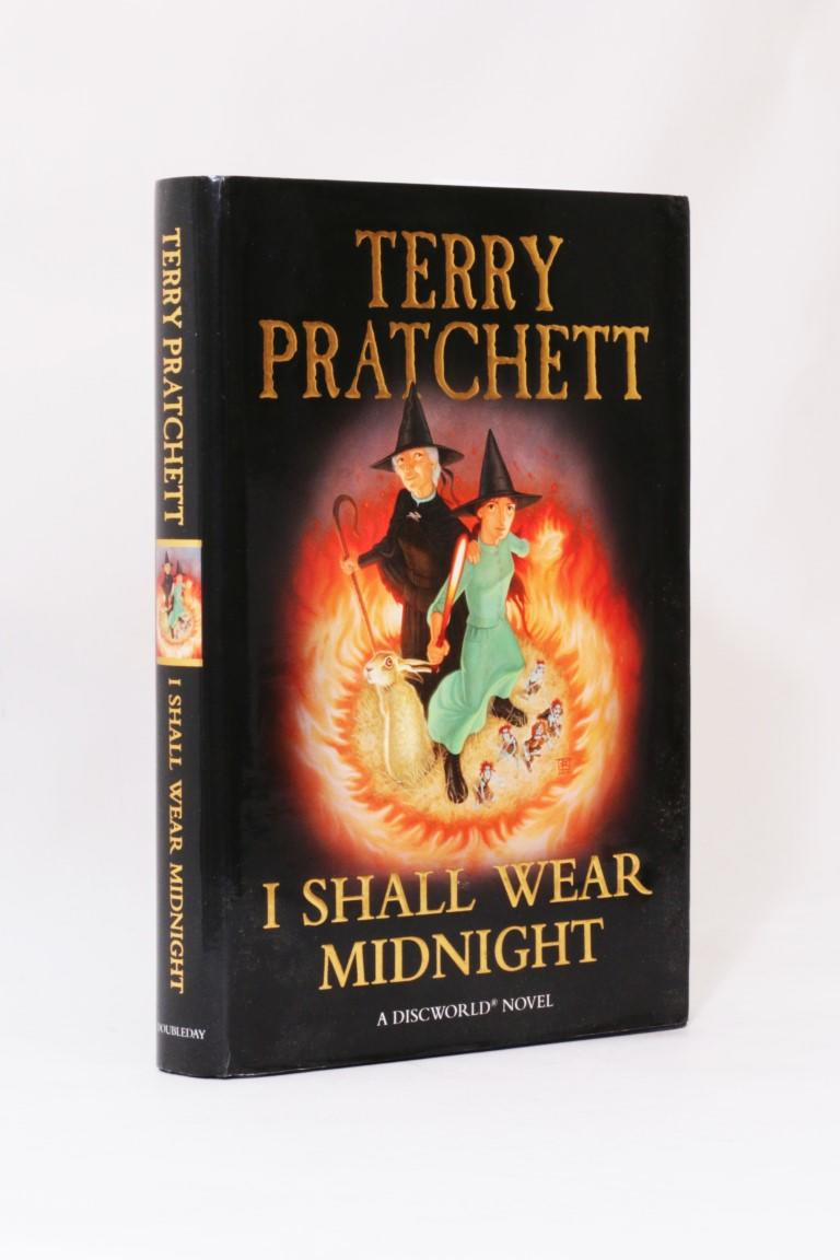 Terry Pratchett - I Shall Wear Midnight - Doubleday, 2010, First Edition.