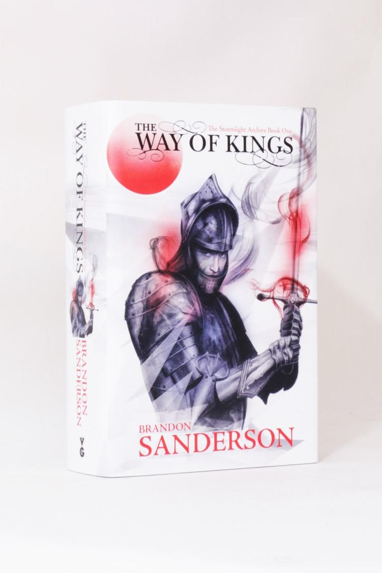 Brandon Sanderson - The Way of Kings: The Stormlight Archive Book One - Gollancz, 2010, Signed First Edition.