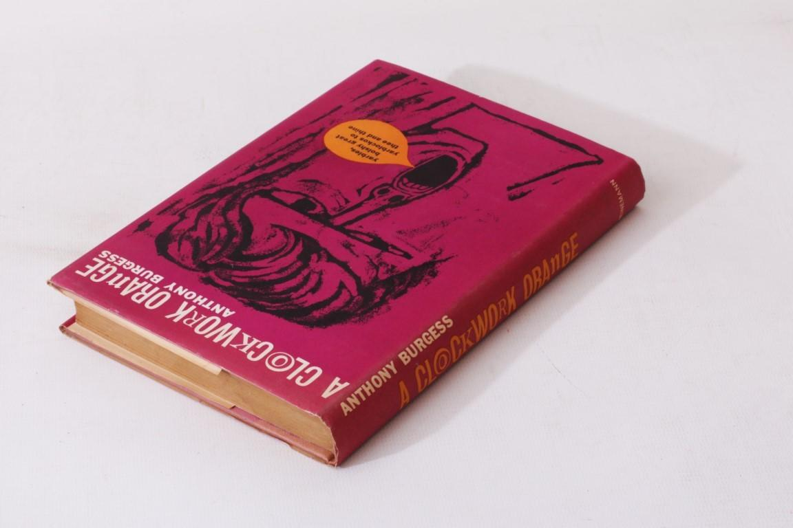 Anthony Burgess - A Clockwork Orange - Heinemann, 1962, First Edition.