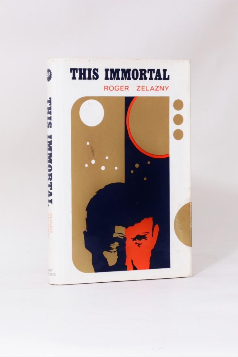 Roger Zelazny - This Immortal - Rupert Hart-Davis, 1967,Signed First Edition.