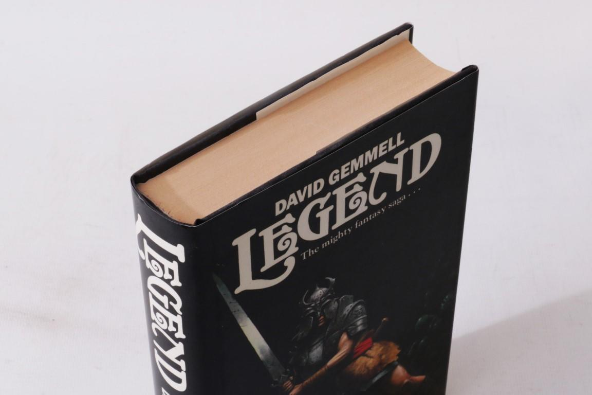 David Gemmell - Legend - Century, 1986, First Edition.
