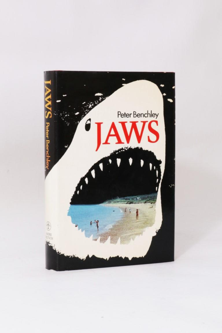 Peter Benchley - Jaws - Andre Deutsch, 1974, First Edition.