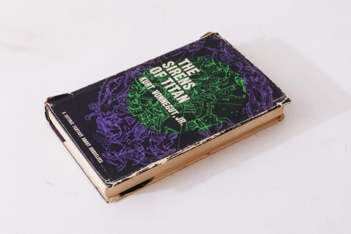 Kurt Vonnegut - The Sirens of Titan - HMCO Houghton Mifflin Company, 1961, Signed First Edition.