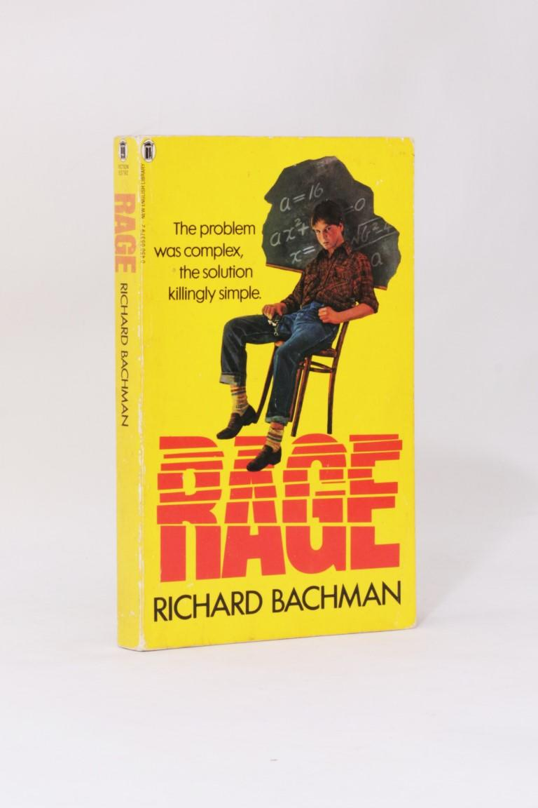 Richard Bachman [Stephen King] - Rage - New English Library (NEL), 1983, First Edition.