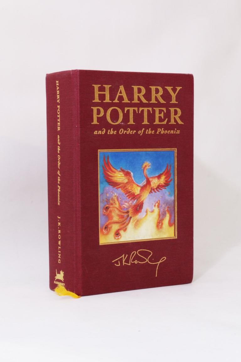 J.K. Rowling - Harry Potter and the Order of the Phoenix - Bloomsbury, 2003, First Edition.