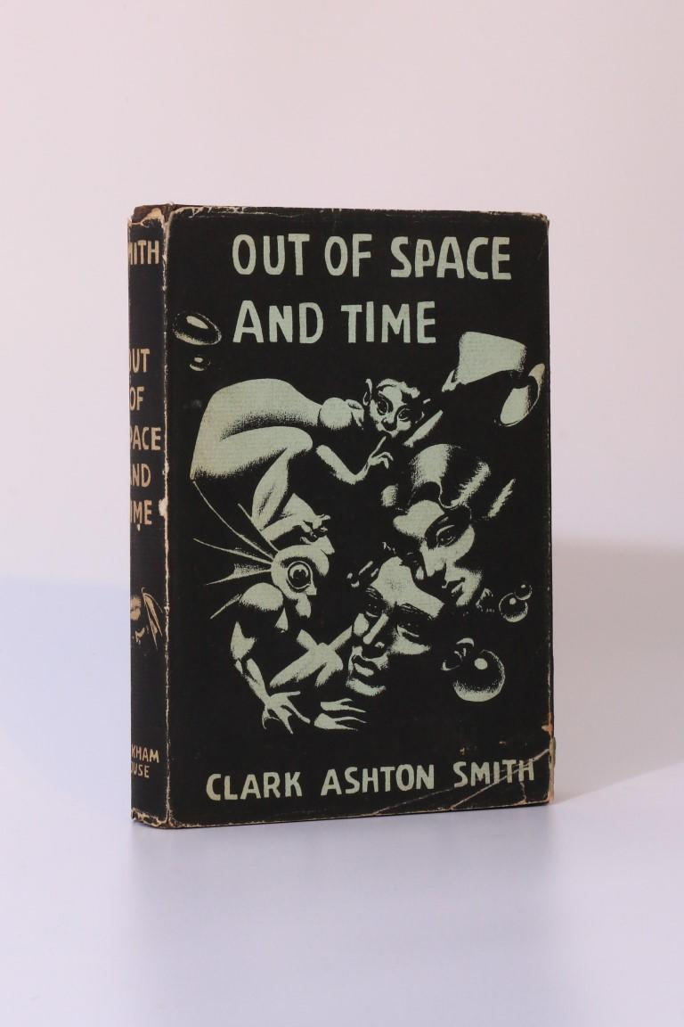 Clark Ashton Smith - Out of Space and Time - Arkham House, 1942, First Edition.