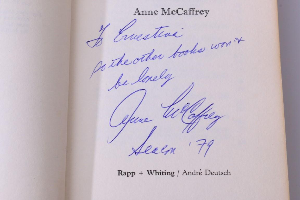 Anne McCaffrey - Dragonquest - Rapp & Whiting, 1973, Signed First Edition.
