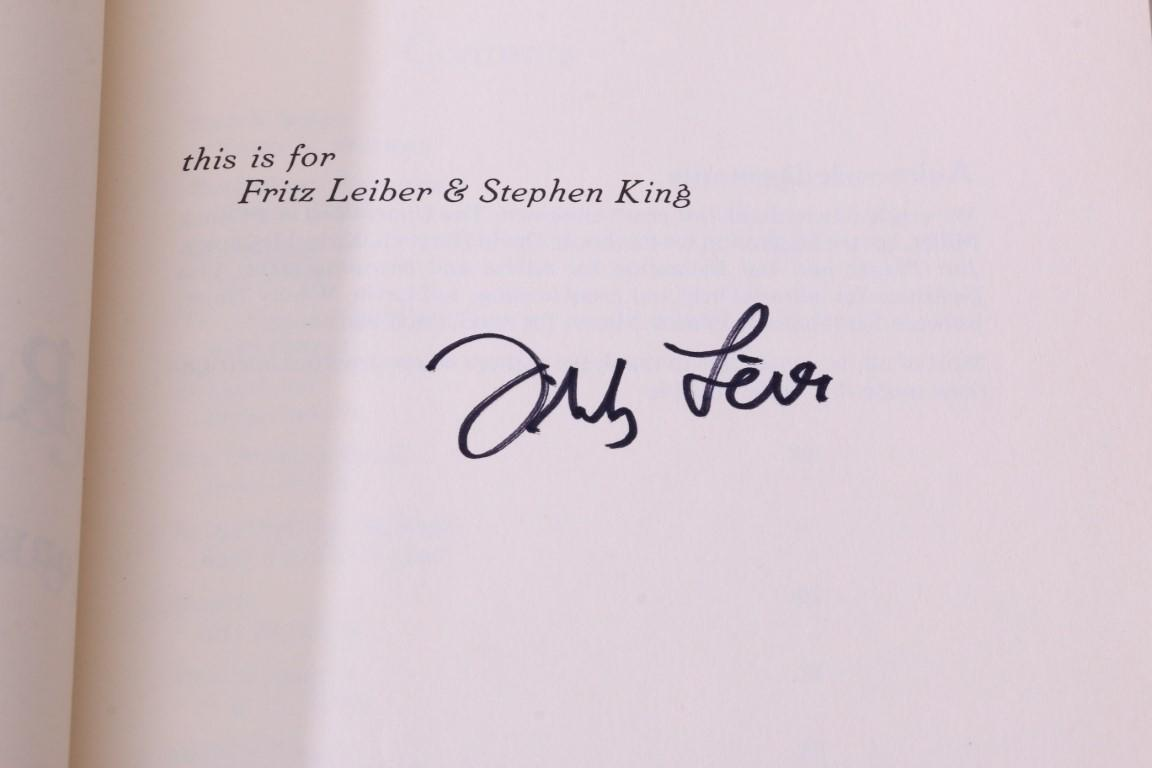 Jeff Frane & Jack Rems - The Seventh World Fantasy Convention: A Presentation Copy from Fritz Leiber and Stephen King to Tim and Serena Powers - The Seventh World Fantasy Convention, 1981, Signed Limited Edition.