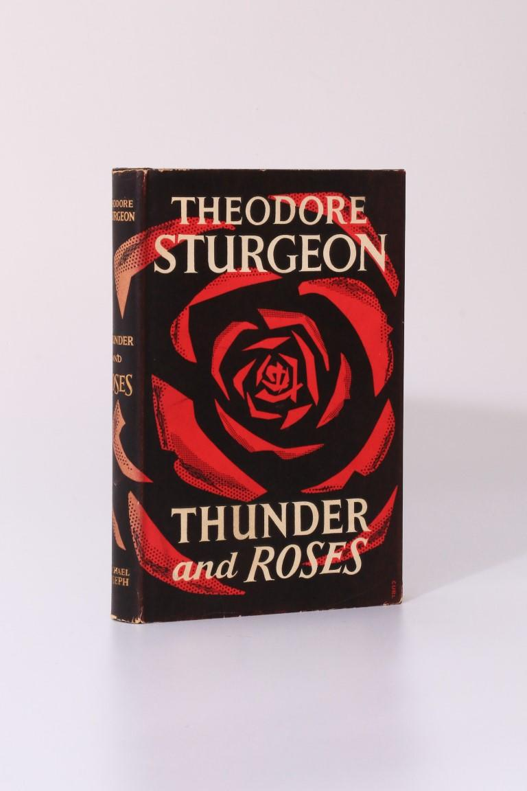Theodore Sturgeon - Thunder and Roses - Michael Joseph, 1957, First Edition.