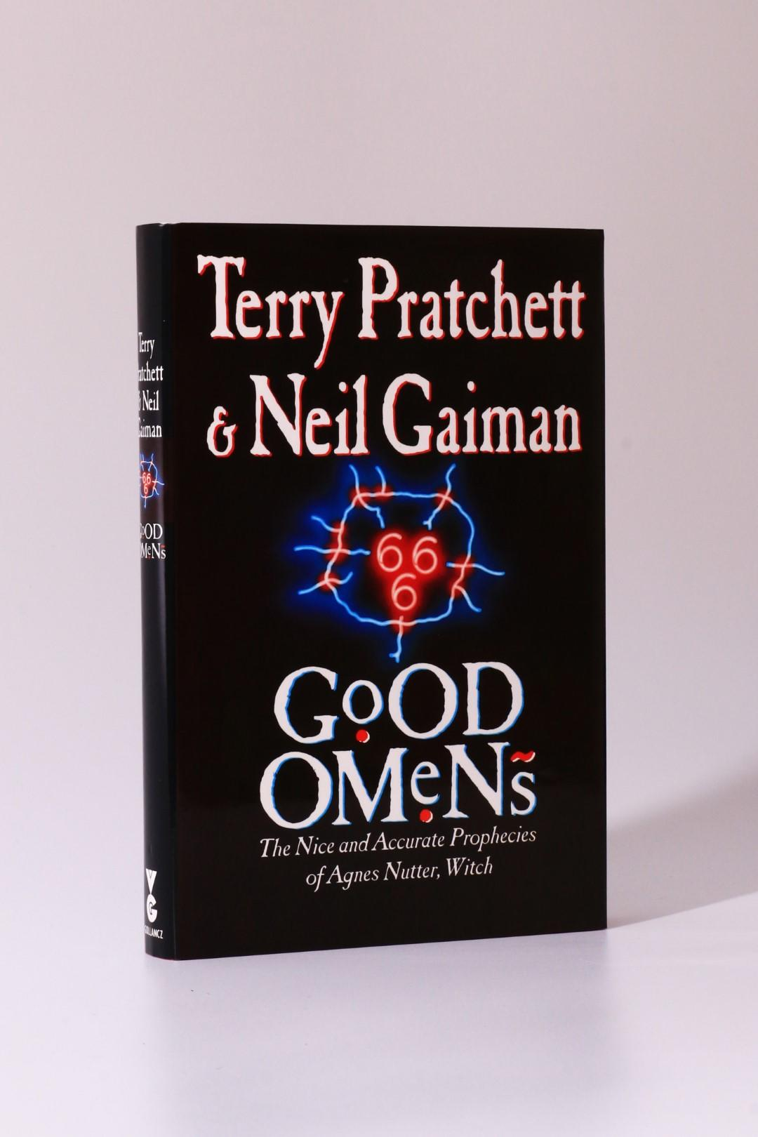 Terry Pratchett & Neil Gaiman - Good Omens - Gollancz, 1990, Signed First Edition.