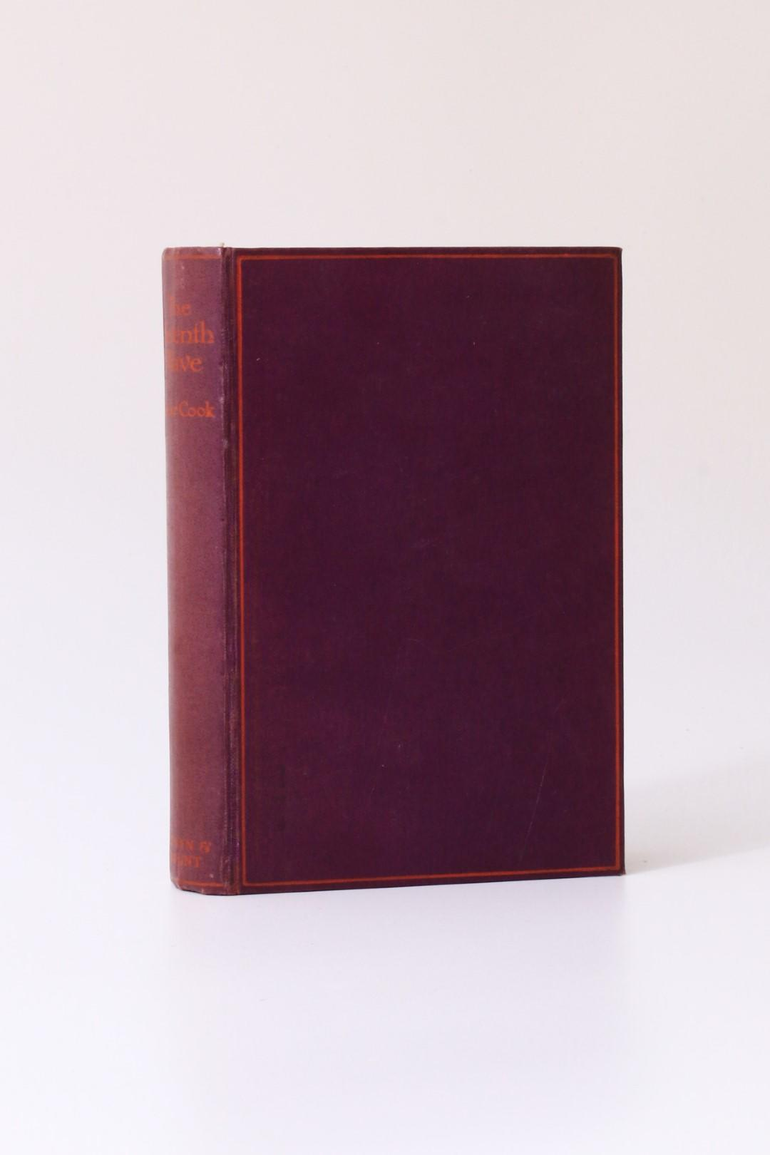 Oscar Cook - The Seventh Wave - Selwyn & Blount, 1926, First Edition.