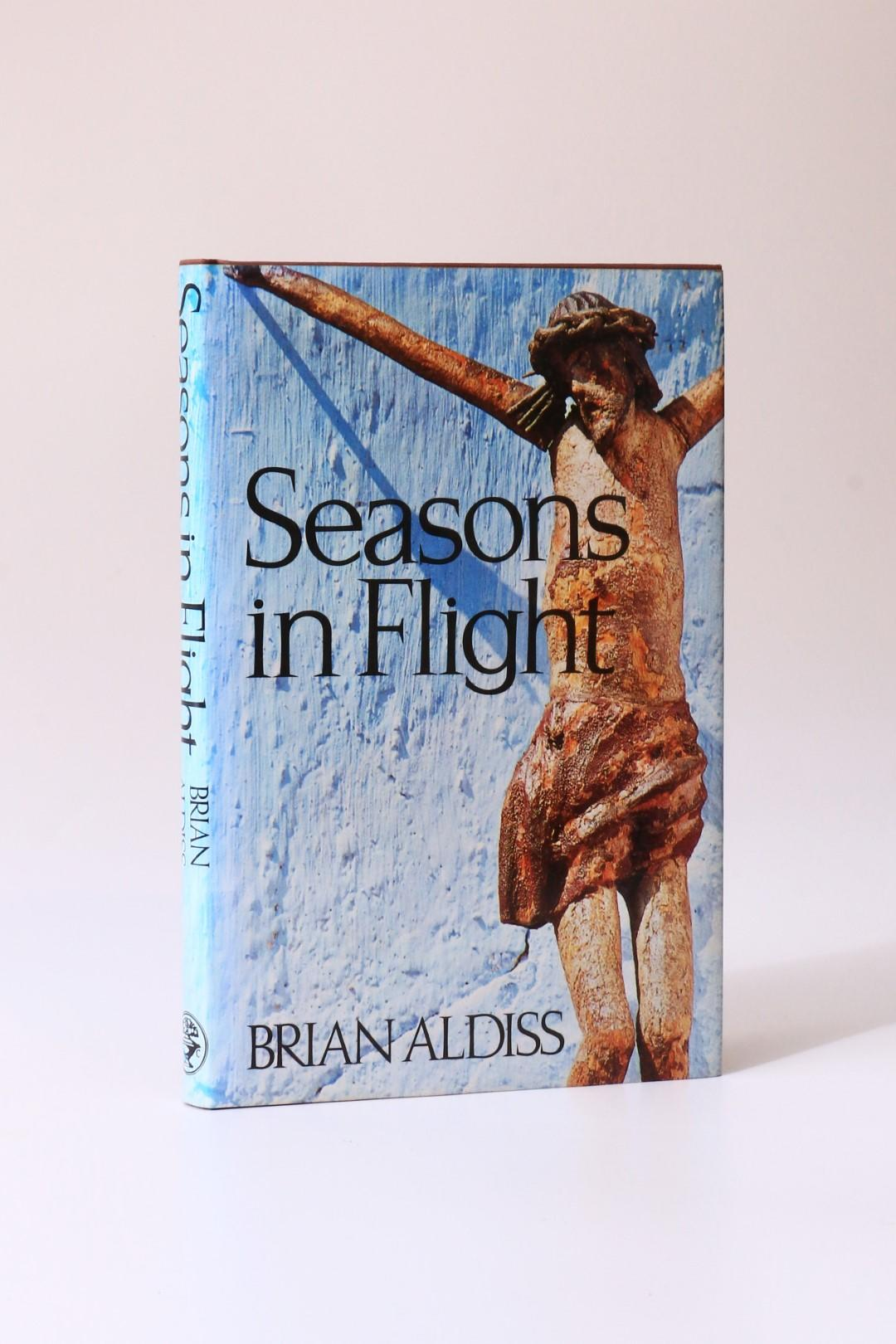 Brian Aldiss - Seasons in Flight - Jonathan Cape, 1984, Signed First Edition.