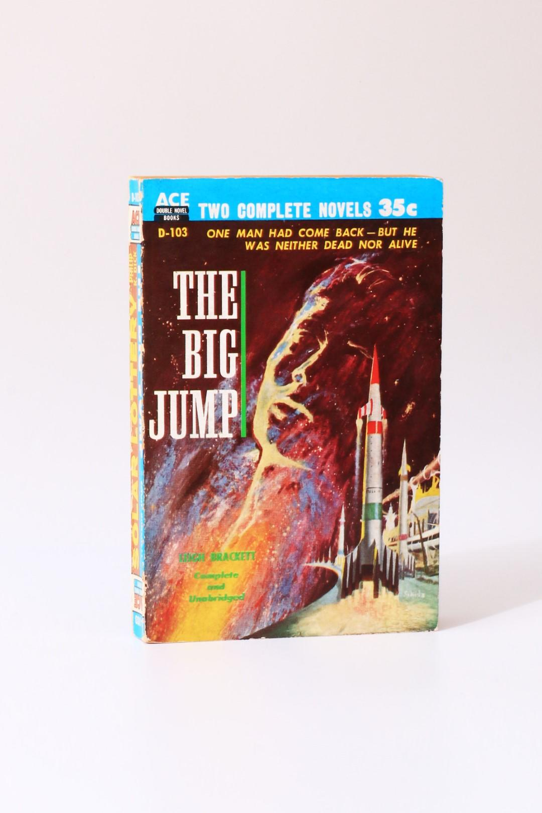 Philip K. Dick / Leigh Brackett - Solar Lottery / The Big Jump - Ace, 1955, Signed First Edition.