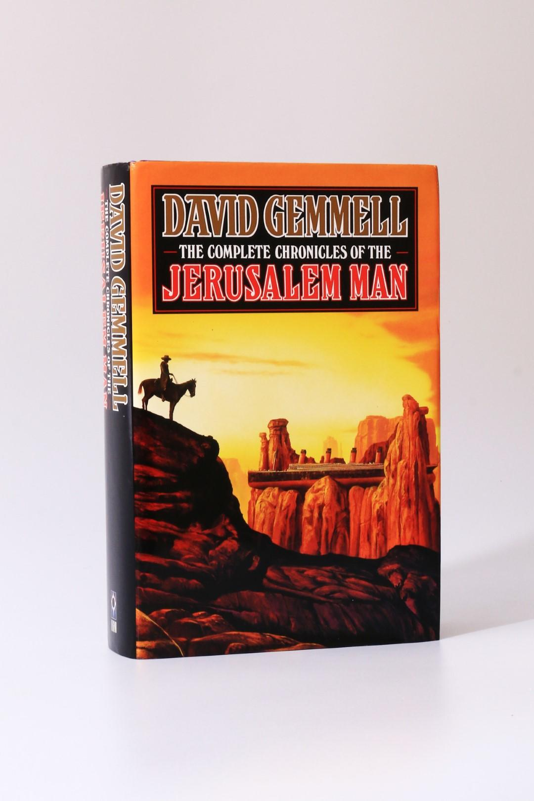 David Gemmell - The Complete Chronicles of the Jerusalem Man - Legend, 1995, First Thus.