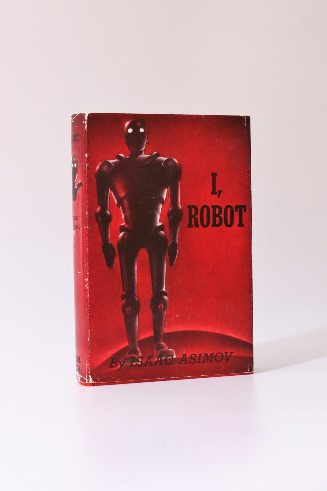 Isaac Asimov - I, Robot - Gnome Press, 1950, First Edition.