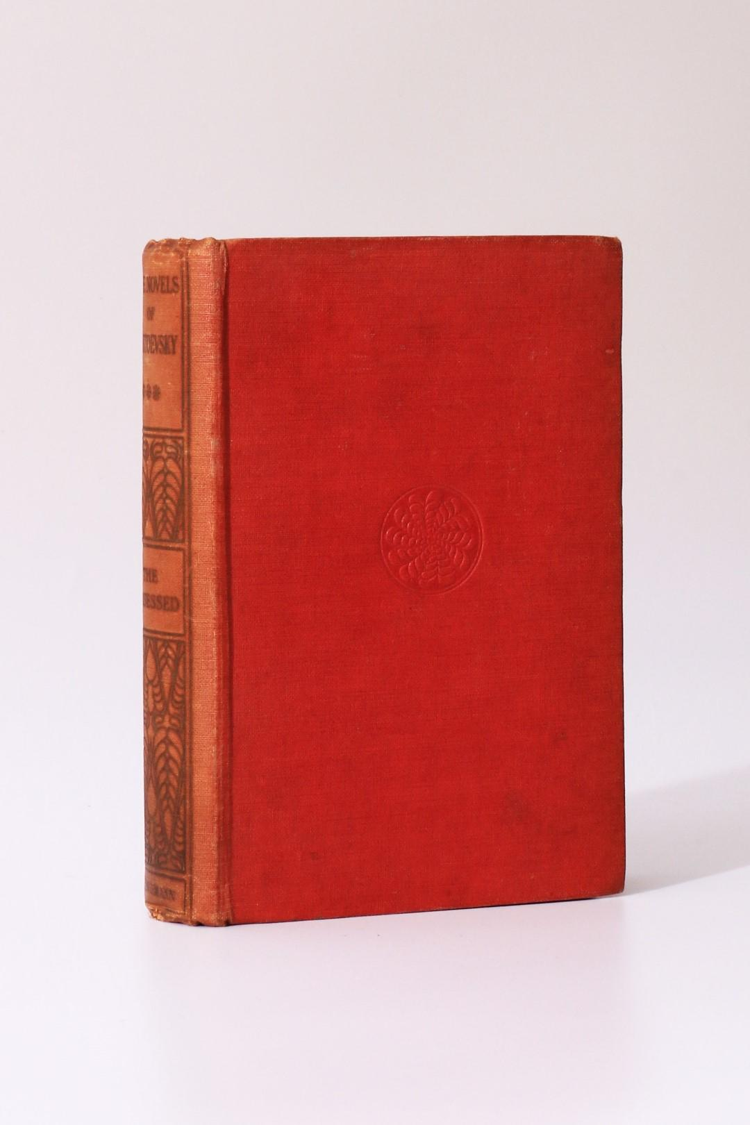 Fyodor Dostoevsky [Dostoyevsky] - The Possessed - Heinemann, 1913, First Edition.
