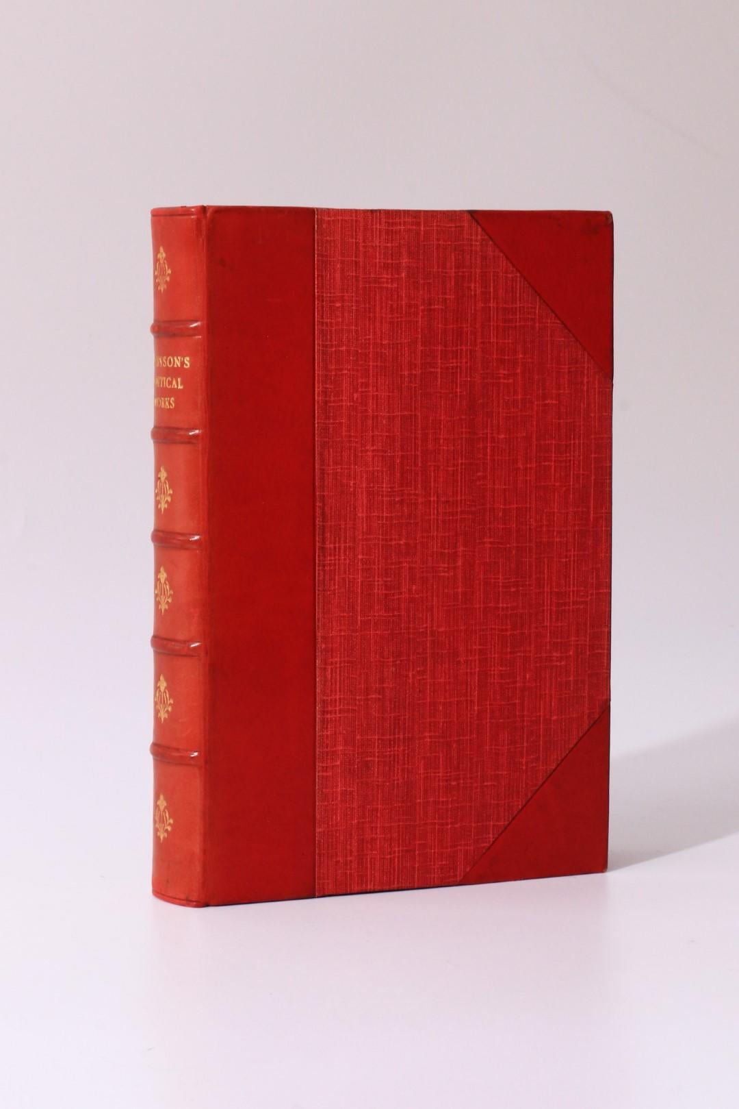 Alfred Lord Tennyson - Poetical Works of Alfred Lord Tennyson - Macmillan, 1924, First Thus.