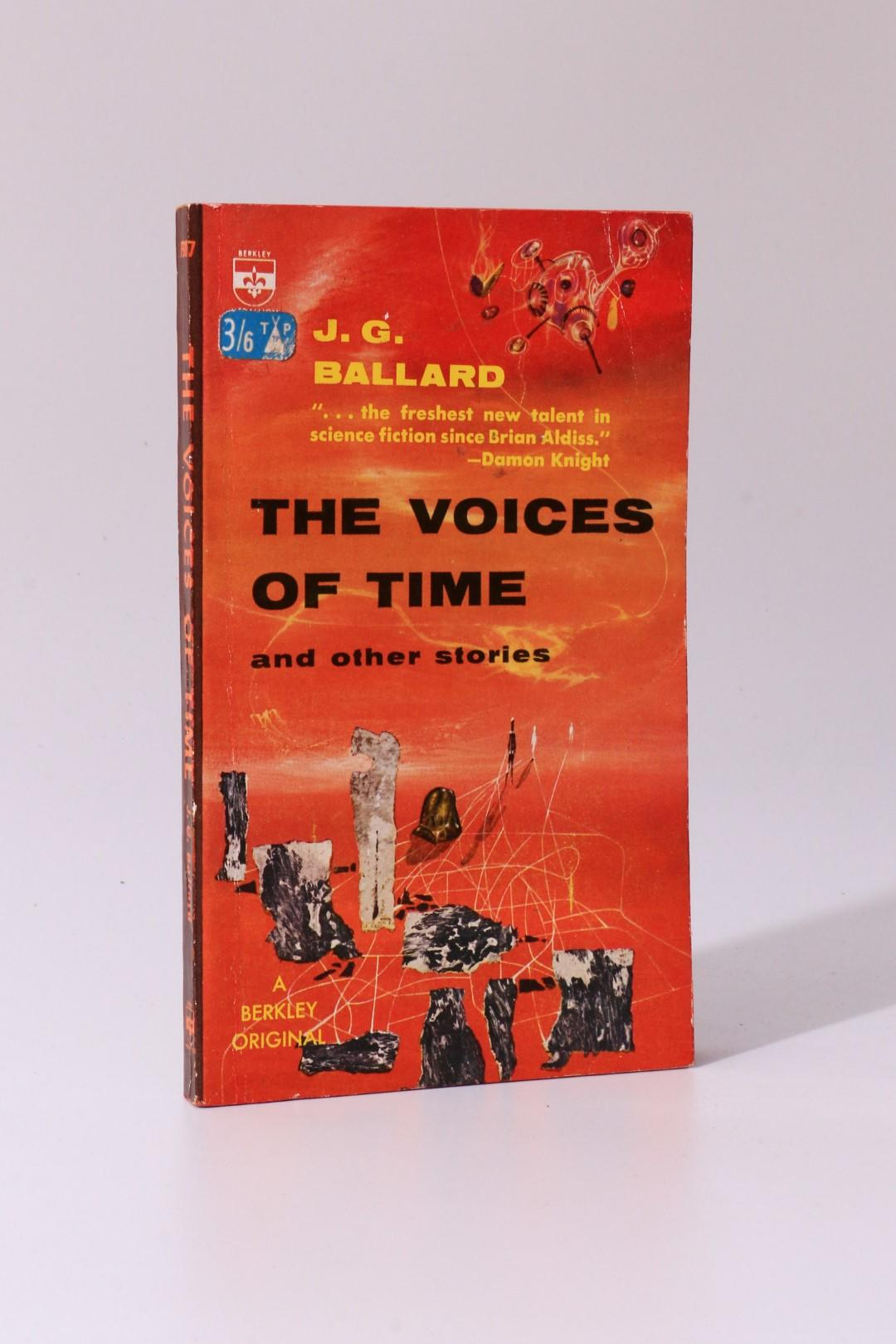 J.G. Ballard - The Voices of Time and Other Stories - Berkley, 1962, Signed First Edition.