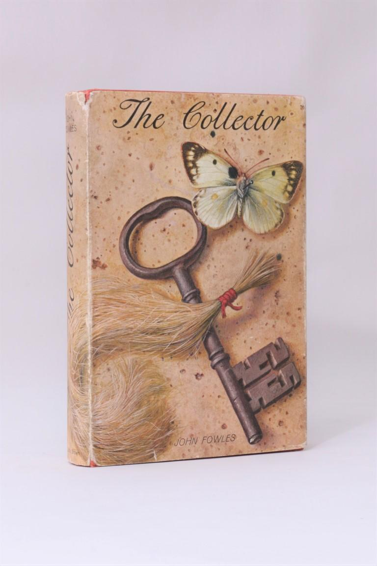 John Fowles - The Collector - Little, Brown & Company, 1963, First Edition.