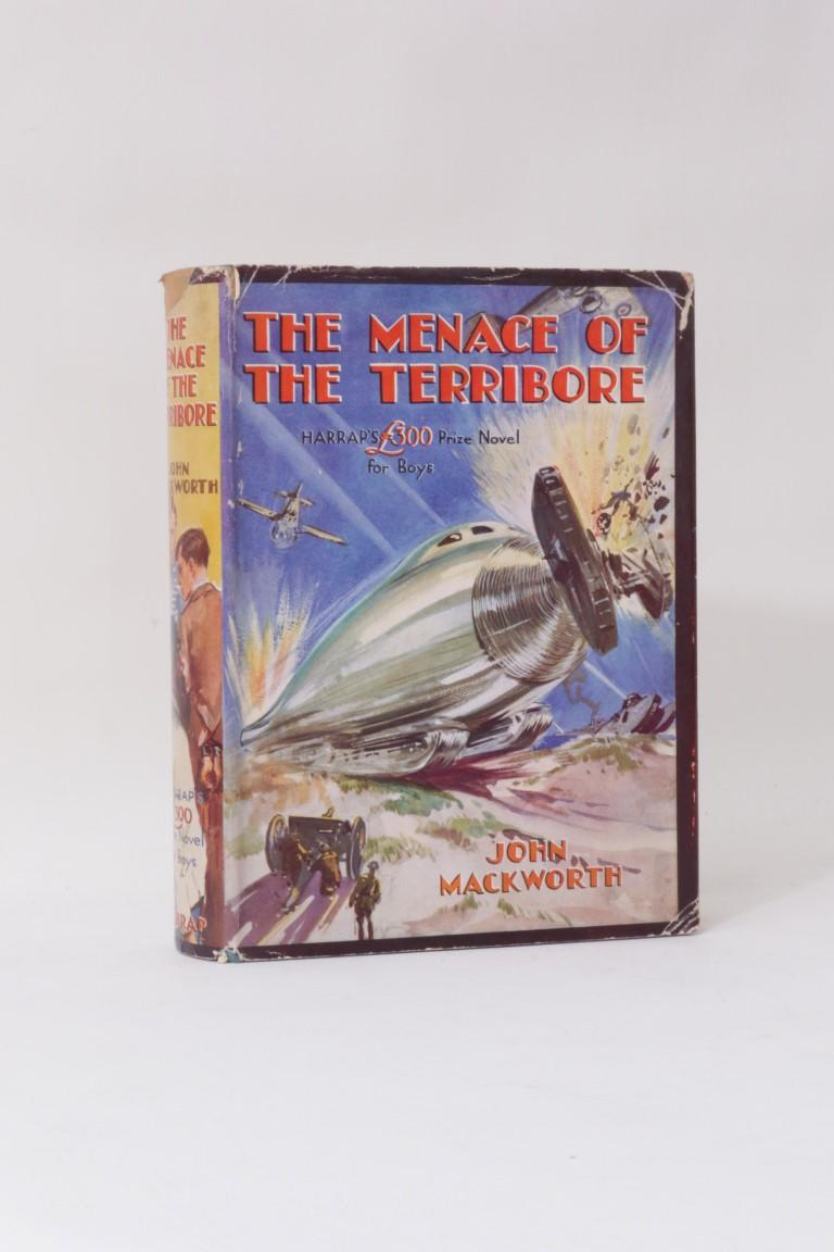 John Mackworth - The Menace of the Terribore - Harrap, 1936, First Edition.