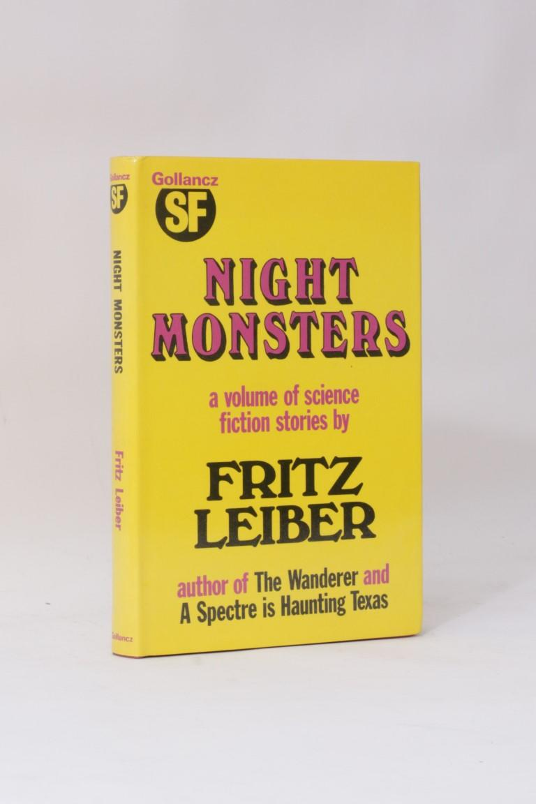 Fritz Leiber - Night Monsters - Gollancz, 1974, First Edition.