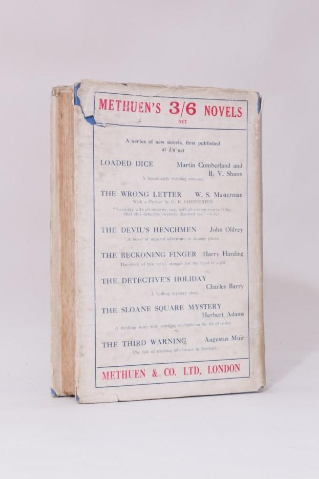 John Oldrey - The Devil's Henchmen - Methuen, 1926, First Edition.