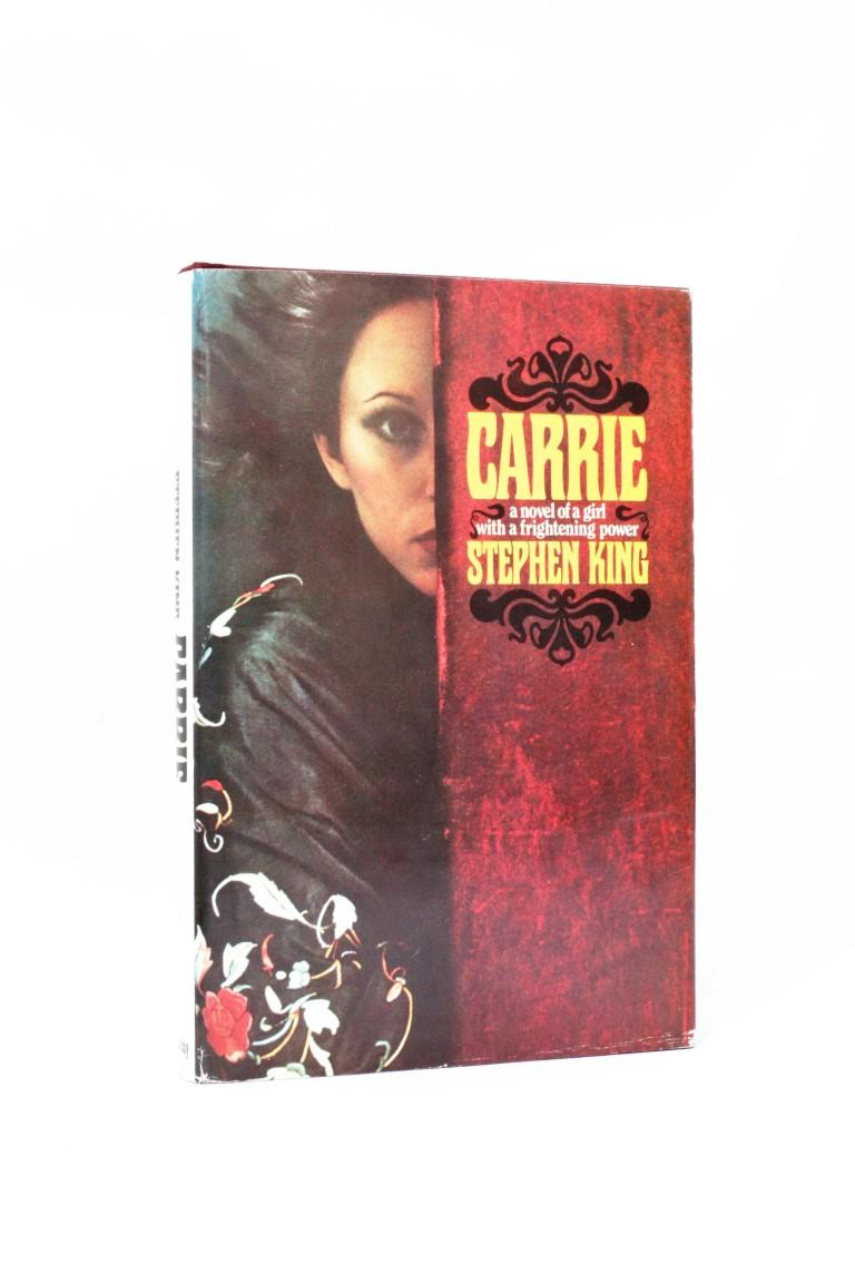 Stephen King - Carrie - Doubleday, 1974, First Edition.  Signed