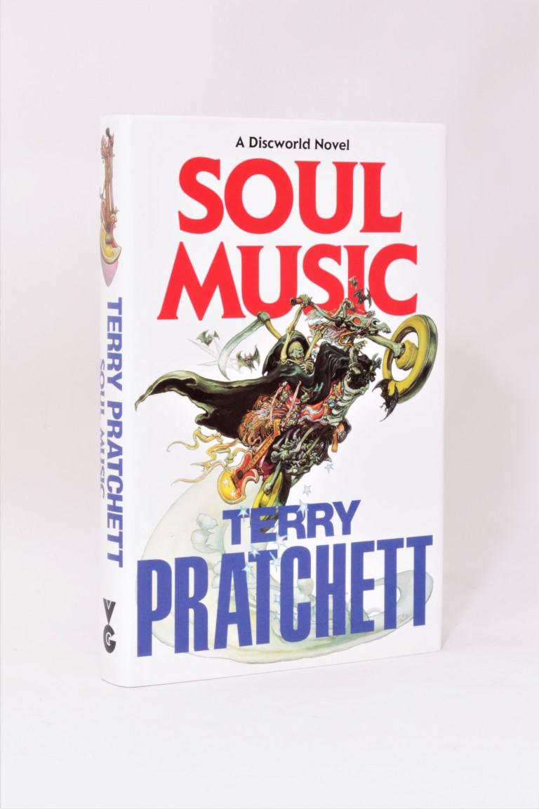 Terry Pratchett - Soul Music - Gollancz, 1994, First Edition.