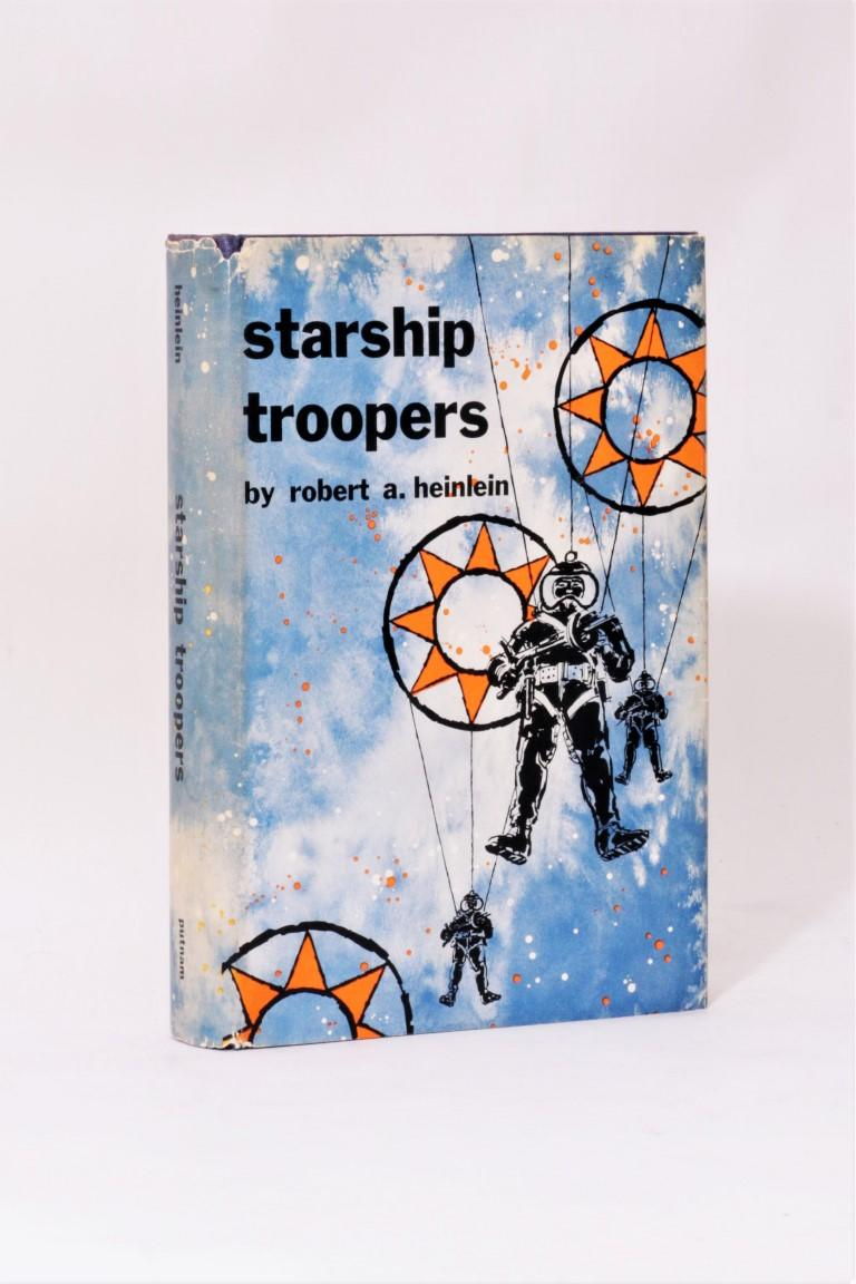 Robert A. Heinlein - Starship Troopers - Putnam, 1959, First Edition.