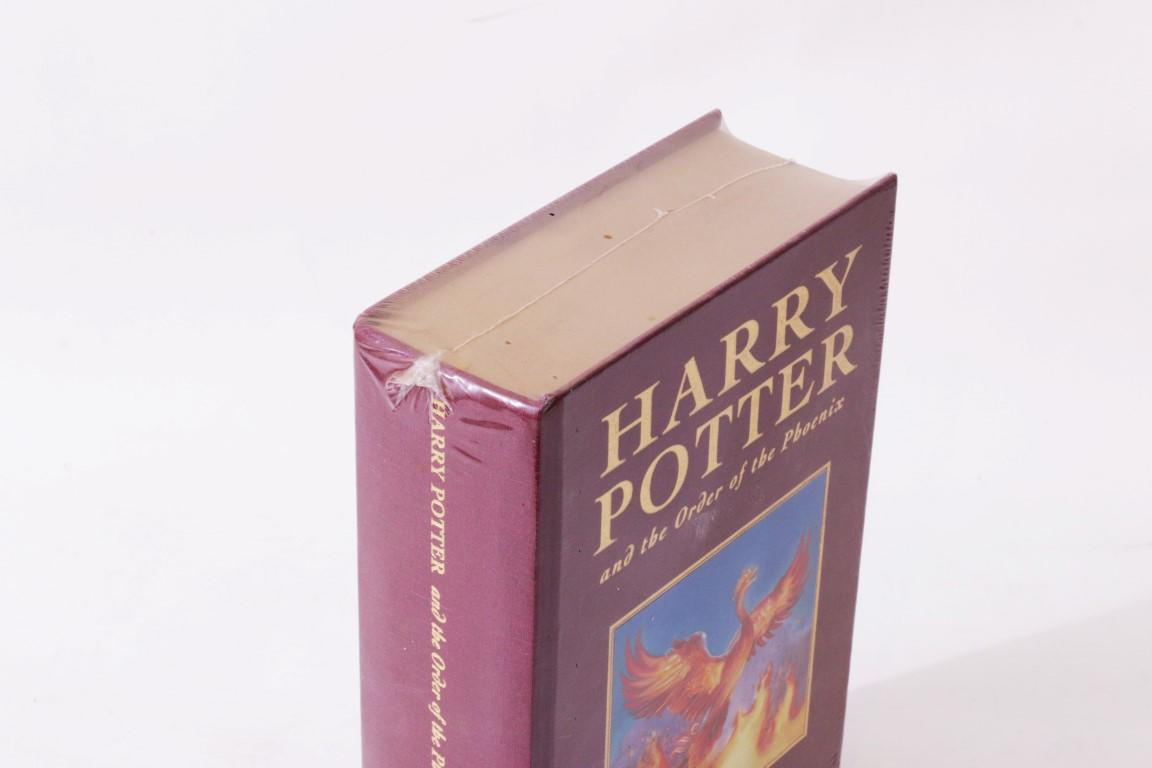 J.K. Rowling - Harry Potter and the Order of the Phoenix - Bloomsbury, 2000, First Thus.