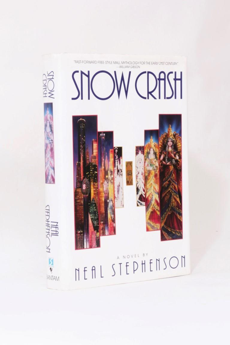 Neal Stephenson - Snow Crash - Bantam Press, 1992, First Edition.