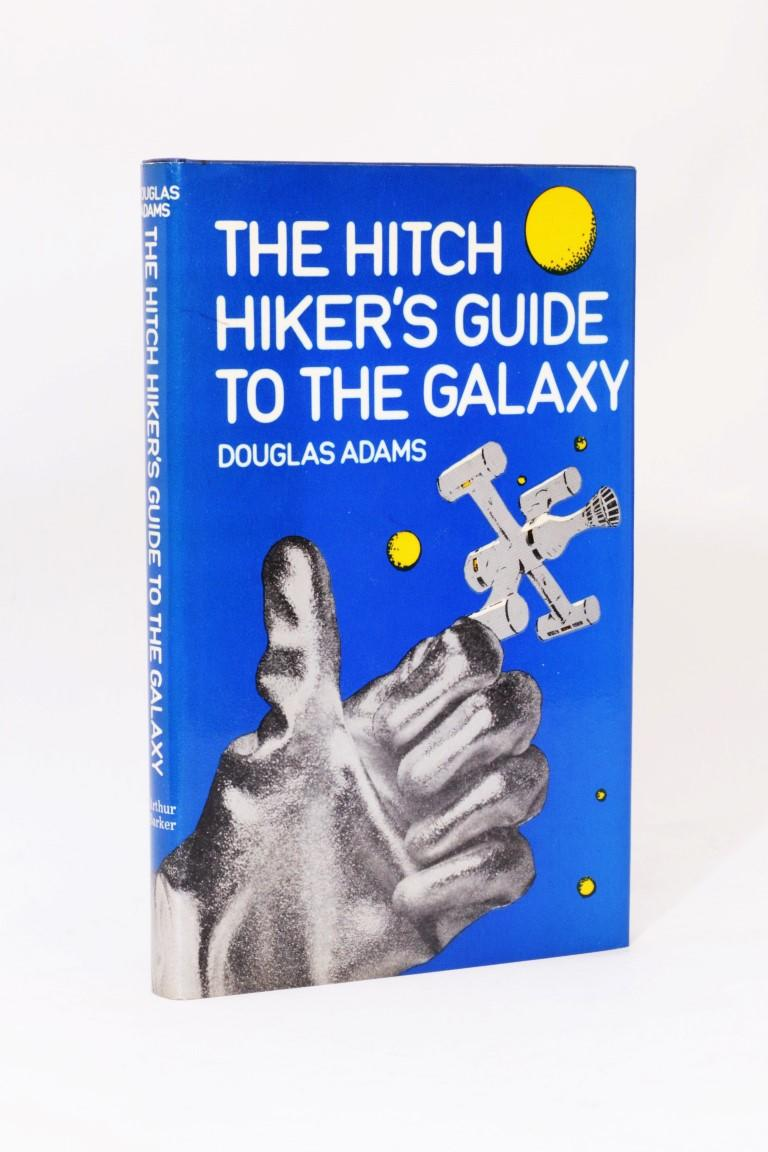 Douglas Adams - The Hitch Hiker's Guide to the Galaxy - Arthur Barker, 1979, First Edition.