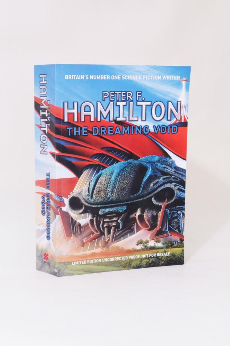 Peter F. Hamilton - The Dreaming Void - Macmillan, 2007, Proof.
