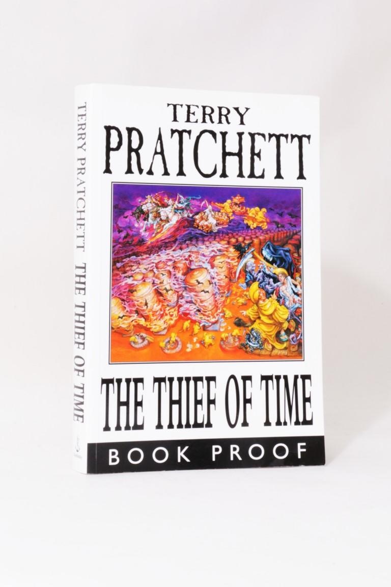 Terry Pratchett - The Thief of Time - Doubleday, 2001, Proof.