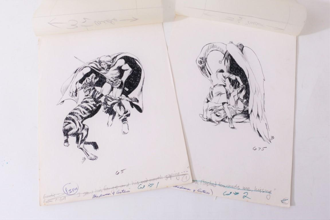 Jack Gaughan - A Collection of Jack Gaughan Original Art - DAW, c. 1974, . Signed