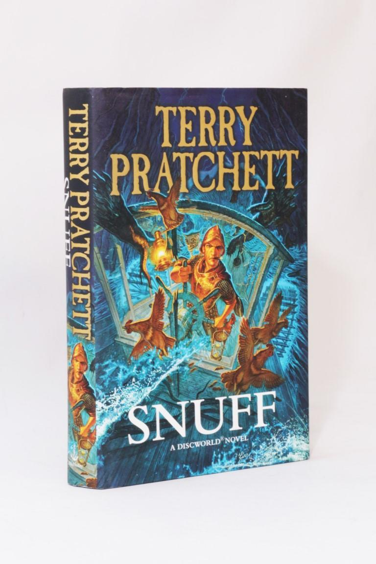 Terry Pratchett - Snuff - Doubleday, 2011, First Edition.